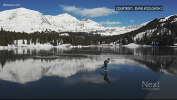The Most Colorado Thing: Lake skating in the fall