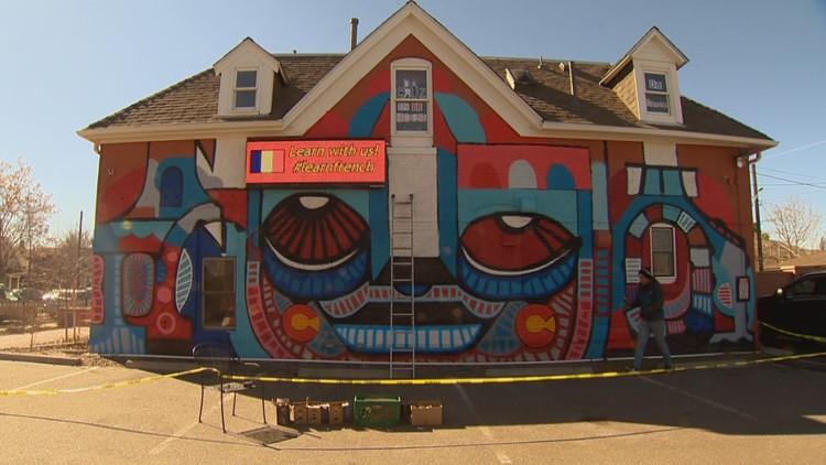 Denver Francophiles rejoice! Parisian artist Da Cruz is doing a Denver residency