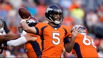 Flacco, most other Broncos starters are done for the preseason
