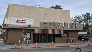 Esquire Theatre in Denver reopening after utility outage, renovation