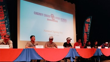 Cherry Creek student-athletes commit on National Signing Day