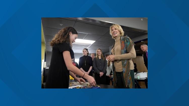 Betsy DeVos visits Fort Collins