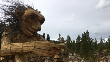The giant wooden Breckenridge troll is coming back thanks to a committee and months of meetings