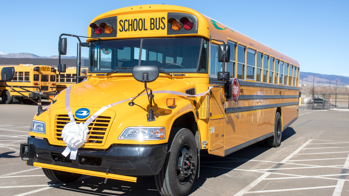 Colorado school district adds first electric bus to its fleet