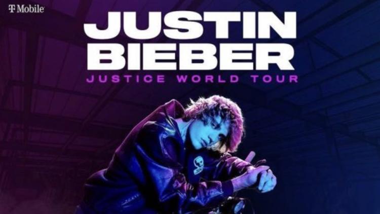 Justin Bieber announces 2022 concert at Ball Arena