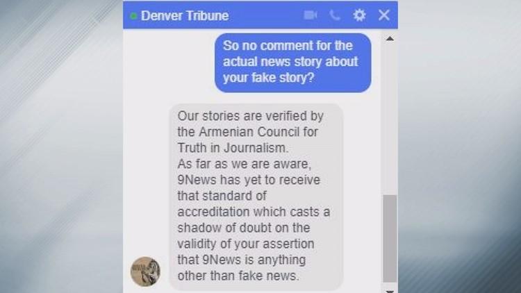 Our conversation with Denver Tribune