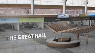What the Great Hall will look like after renovations at DIA