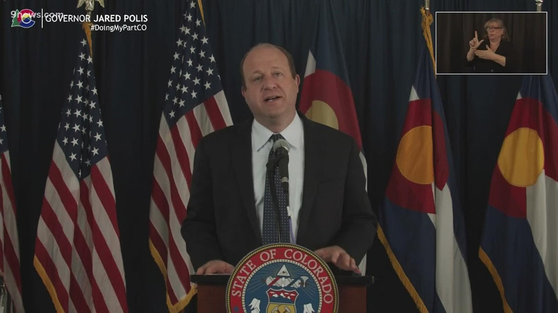 Full news conference: Polis gives update on state's response to COVID-19 pandemic