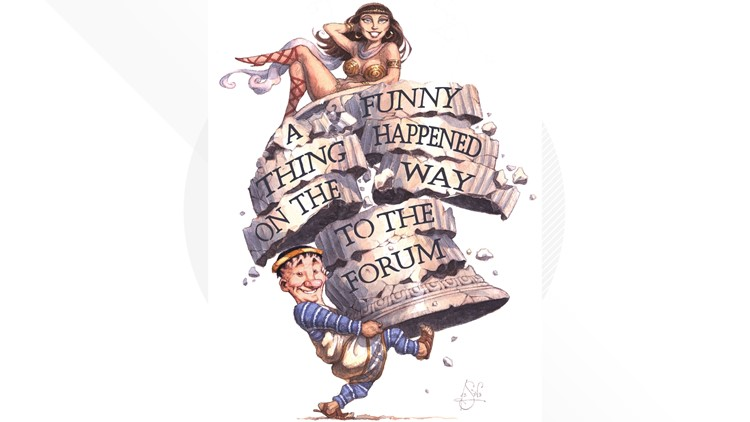 A Funny Thing Happened on the Way to the Forum Performance Now Theatre Company