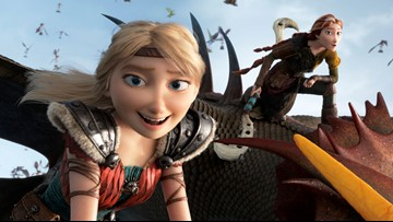 'How to Train Your Dragon' tops weekend with $55.5M