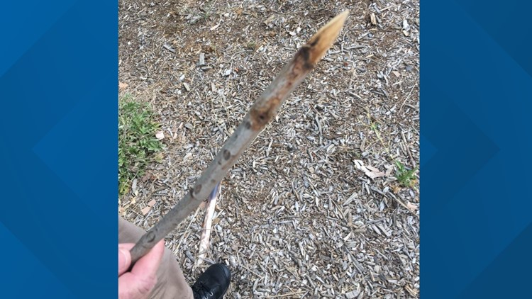 Ellis Elementary School stick stabbing