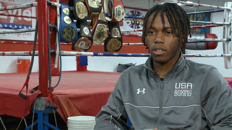 20-year-old Salaam Gonzales has eyes set on becoming USA's top boxer