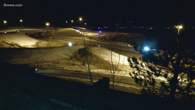 1 dead, 3 injured in rollover crash at C-470 and U.S. 285
