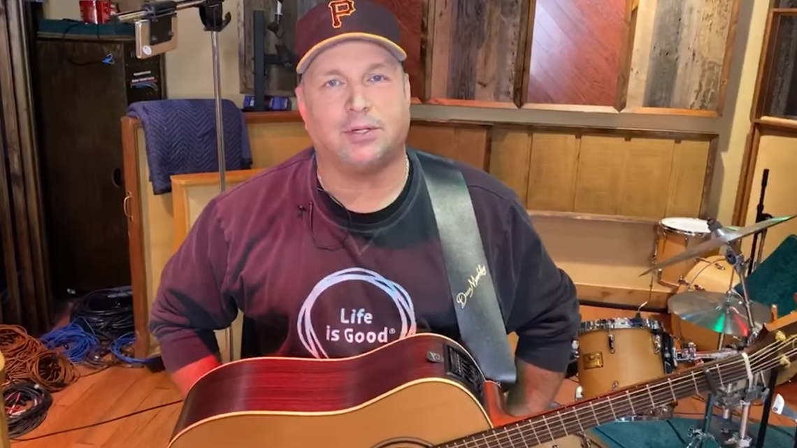 Garth Brooks excited for 2021 CFD