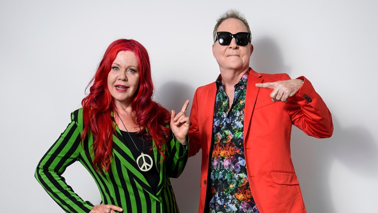 The B-52's Portrait Session
