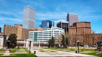 More people are moving out of Denver than into it, study says