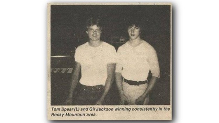 Newspaper clippings and photos often mentioned Tom Spear as one of the Denver-area's finest 'foosers.'