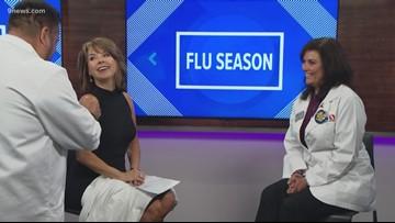 Get a free flu shot at the 9Health Fair