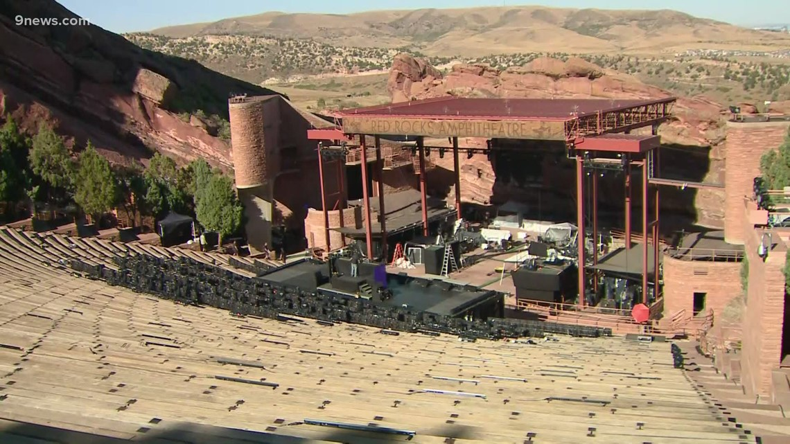After more than a year, concerts return to Red Rocks