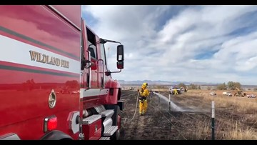 Brush fire burns 5 acres south of Chatfield State Park