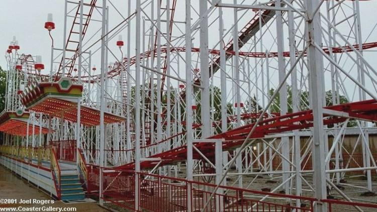 The roller coaster in Branson. Courtesy: CoasterGallery.com