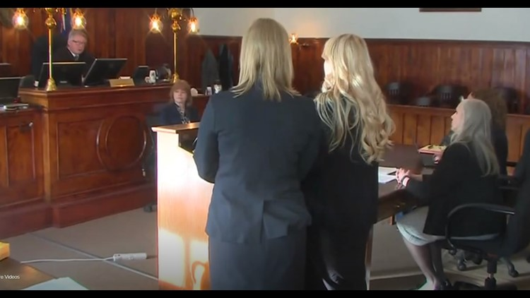 Krystal Kenney in court Friday Feb 8
