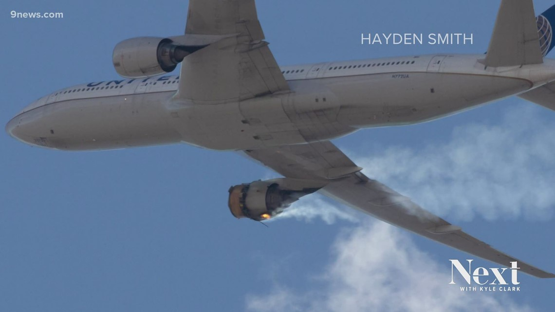 Teenager's pictures show plane's engine explosion over Broomfield