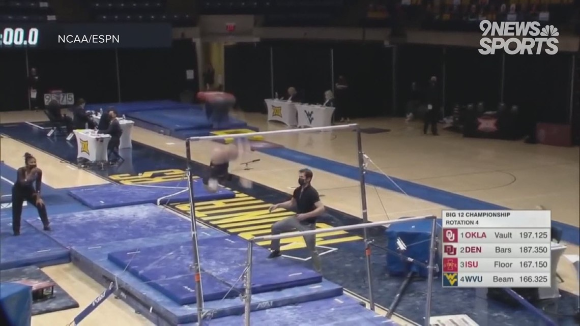 DU's first-ever Big 12 gymnastics title is only the beginning of its postseason push