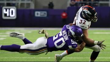 Broncos notes: Janovich suffers season-ending elbow injury