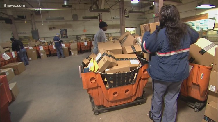 U.S. Postal Service facing busiest holiday season ever