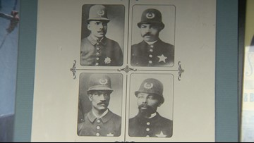 Denver Police Department has a history of hiring black officers dating back to the late 1800's