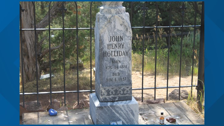 Doc Holliday's headstone
