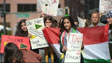 Local Kurdish community cries of betrayal as Turkey invades northern Syria