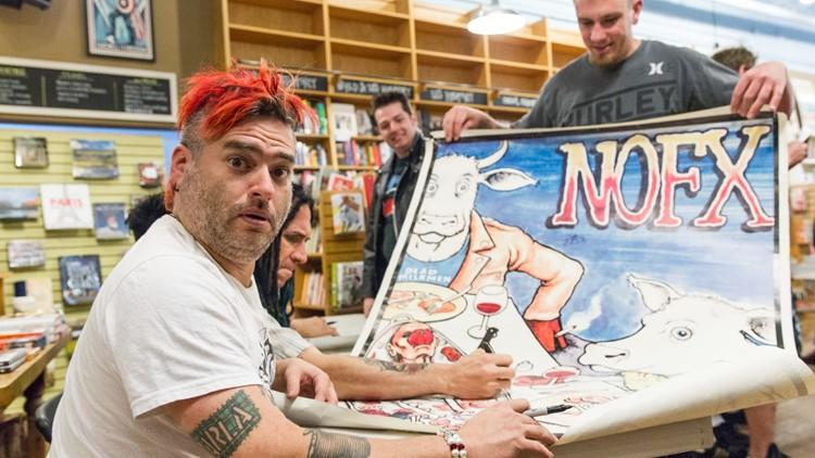 NOFX Book Tour