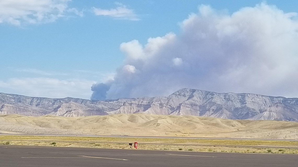 Smell smoke? It's likely from the Pine Gulch Fire