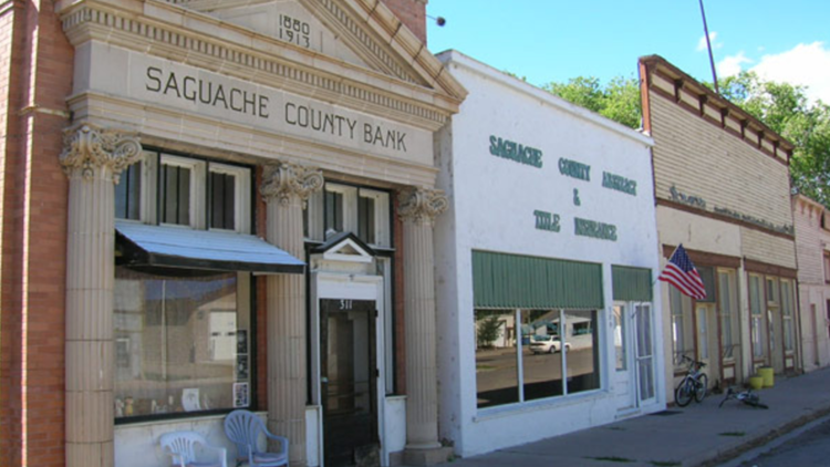 hands-on historic preservation workshop at the Dunn Block in Saguache, Colorado