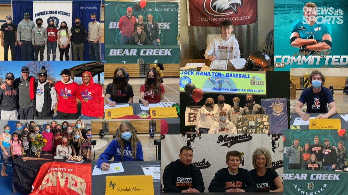 Local athletes from across Colorado sign to play college sports