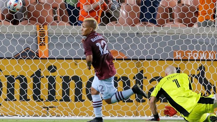Barrios, Galván score to help Rapids beat Dynamo 3-1