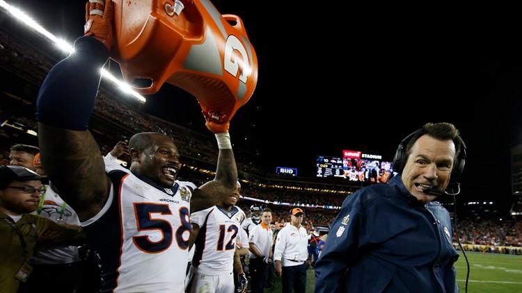 Denver Broncos' head coach Gary Kubiak