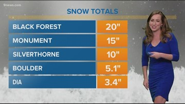 Snow moves out of metro area, much warmer temperatures coming