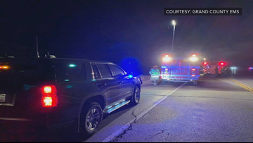Driver dies after two-vehicle crash near Granby