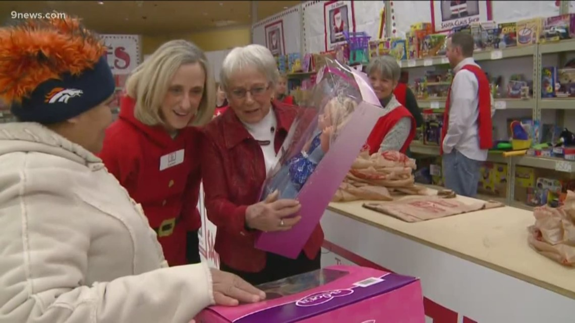 The spirit of giving from the Santa Claus Toy Shop's Queen Gene passed on through generations