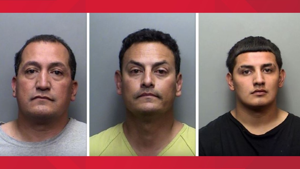 Three men accused of assaulting park ranger