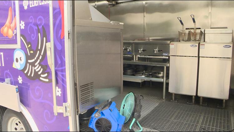 Recent Colorado heat impacts food truck businesses