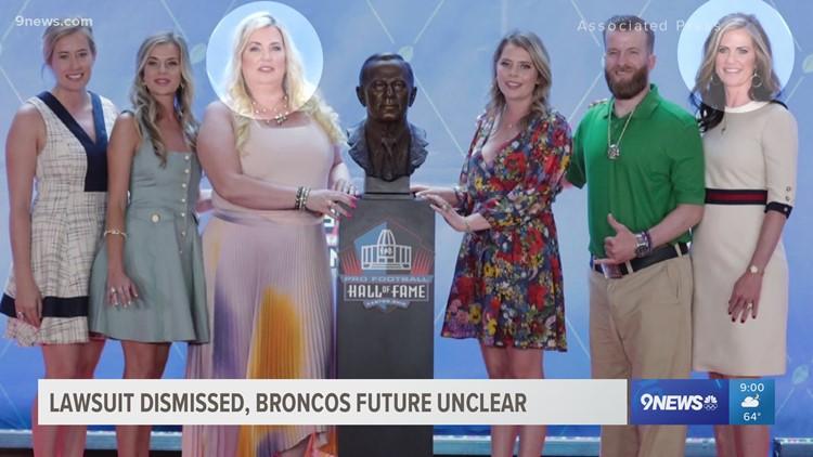 Lawsuit to determine Denver Broncos ownership dismissed