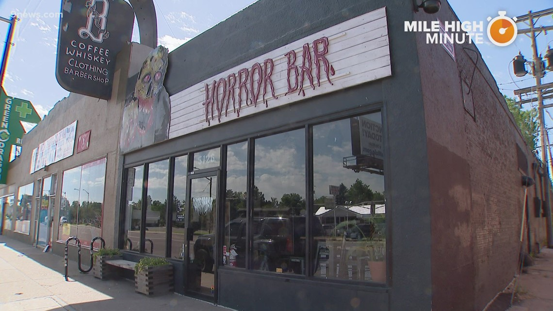 'Horror Bar' offers craft cocktails and a spooky vibe