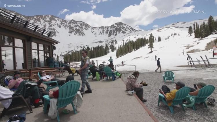 Arapahoe Basin Ski Area closing for the season