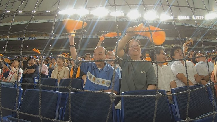 Baseball is bigger than even sumo wrestling in Japan
