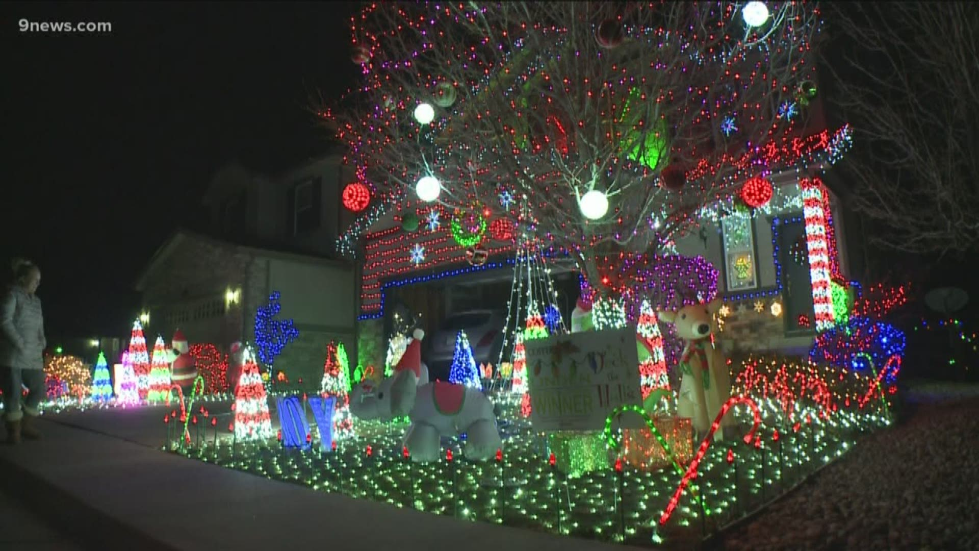 Best Christmas Lights Colorado 2020 Map Where to find the best Christmas lights in Denver and Colorado