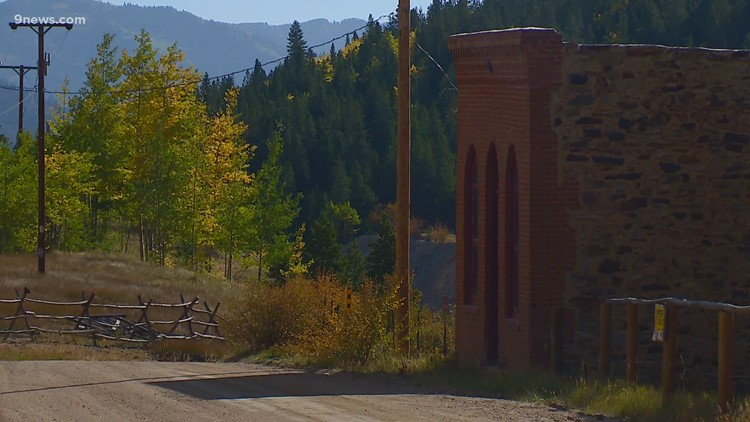 Ghost town in Gilpin County a great place to see fall foliage